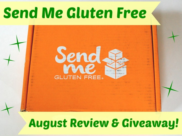 Send Me Gluten Free August 2014 Review, Discount & Giveaway!