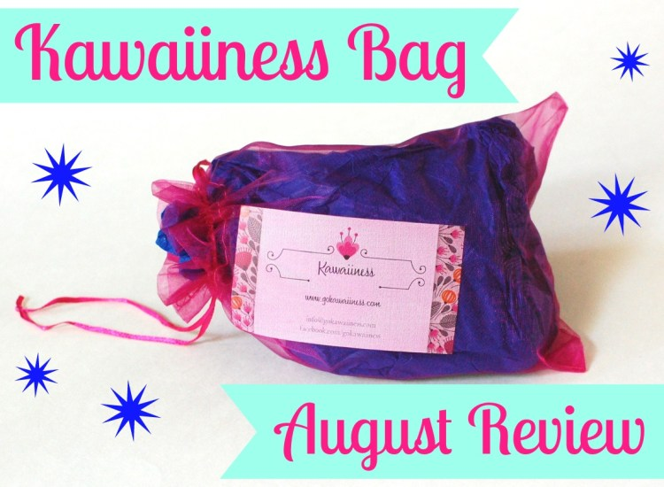 Kawaiiness Bag August 2014 Review