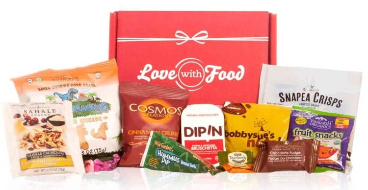 Love With Food August 2017 Flash Sale – As Low as $4.50/Box!