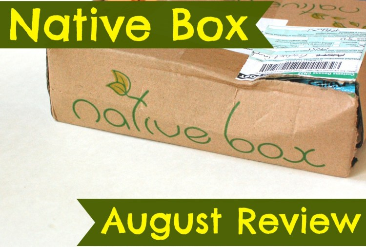 Native Box August 2014 Review – Eco-Friendly Box from Australia!