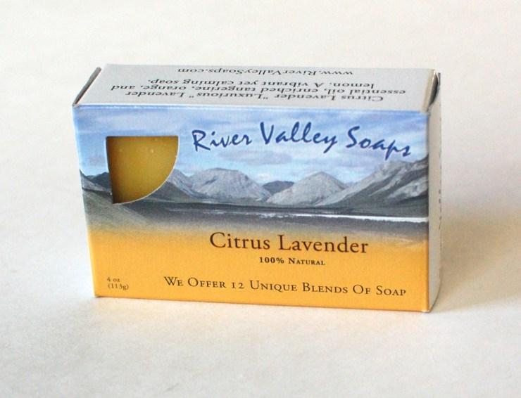 River Valley Soaps citrus lavender