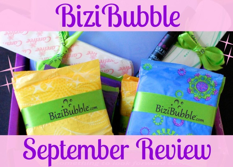 BiziBubble September 2014 Review & Free Box Offer