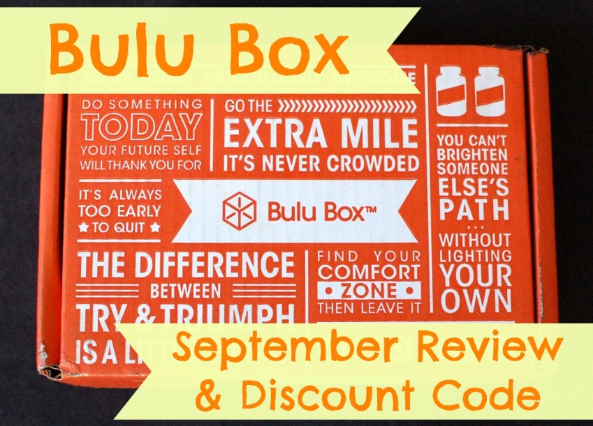 Bulu Box September review & discount code
