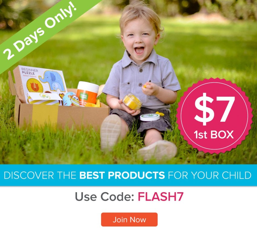 """Get your first Citrus Lane box for just $7 with promo code """"Flash7""""."""