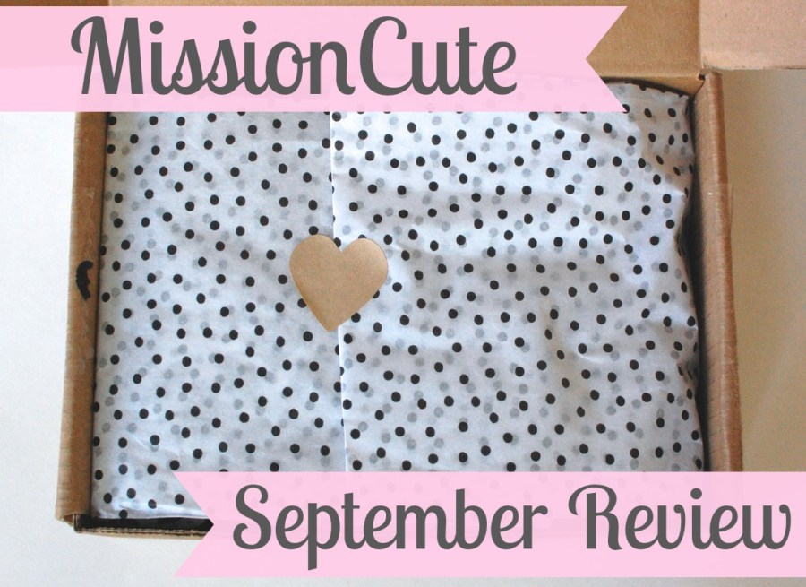 Mission Cute September review