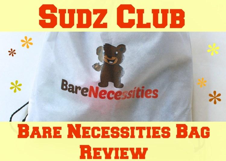 Sudz Club Bare Necessities Bag Review & Discount Code!