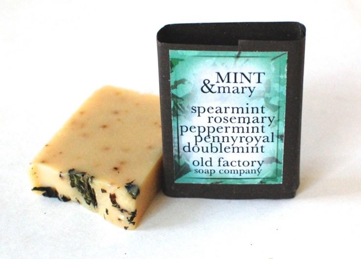 Mint & Mary soap
