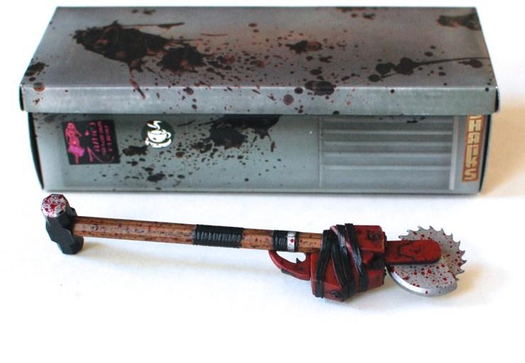 Dead Rising sledgehammer chainsaw pen