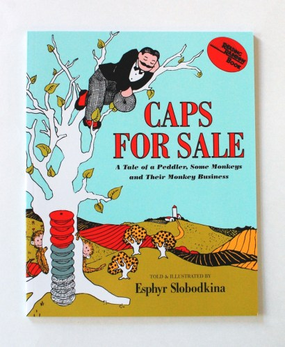 Caps for Sale book cover