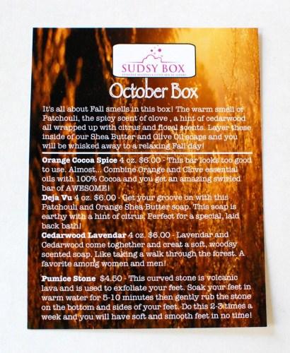 Sudsy-October-20144