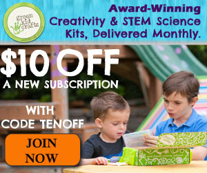 Green Kid Crafts $10 Discount & November 2014 Spoiler