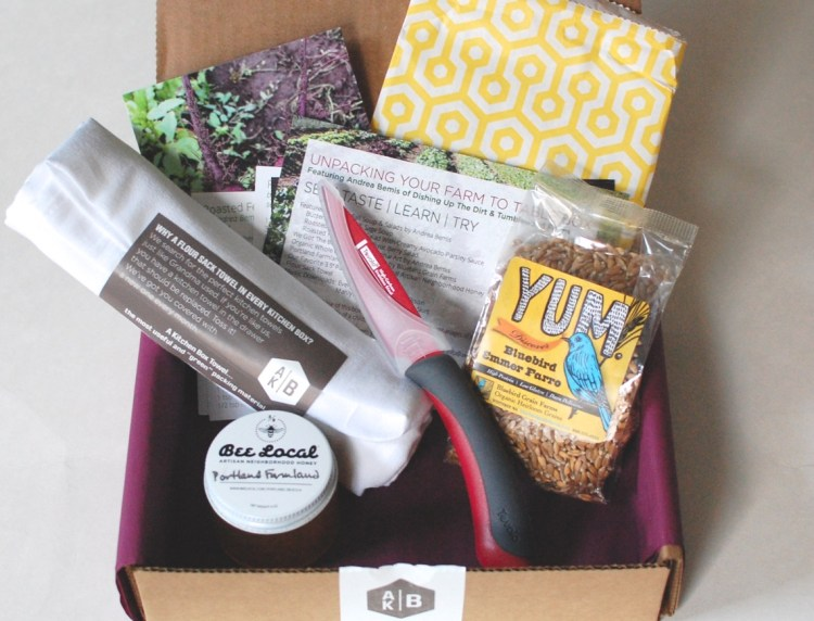 A Kitchen Box November 2014 Farm to Table Box Review & Discount