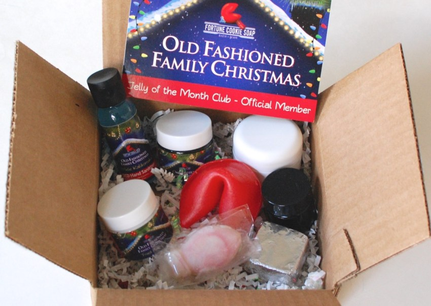 Fortune Cookie Soap Company Winter 2014 Holiday Box