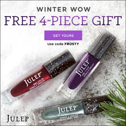 Julep Snow Day Free Welcome Kit
