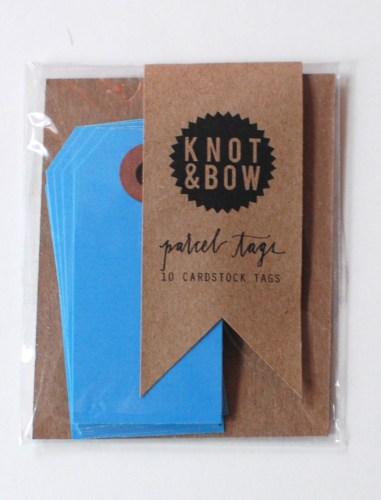 Knot & Bow tags