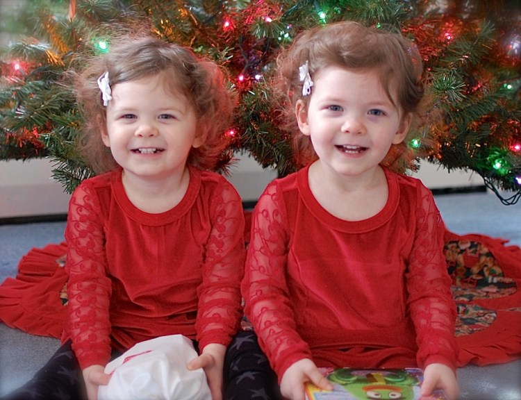 Happy Holidays from 2 Little Rosebuds!