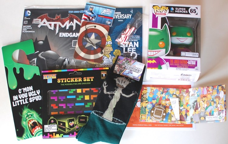 """Loot Crate December 2014 """"Anniversary"""" Review & Coupon Code"""