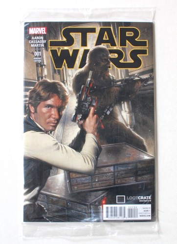 Star Wars #1 Loot Crate Han Solo variant cover