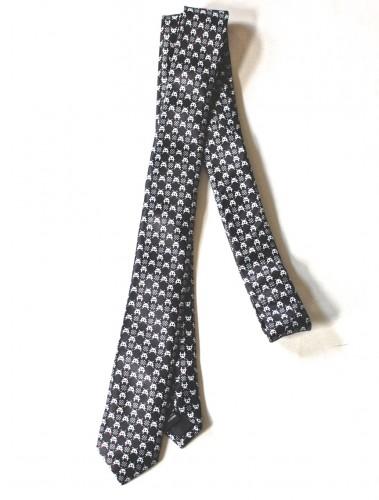 retro arcade skinny tie