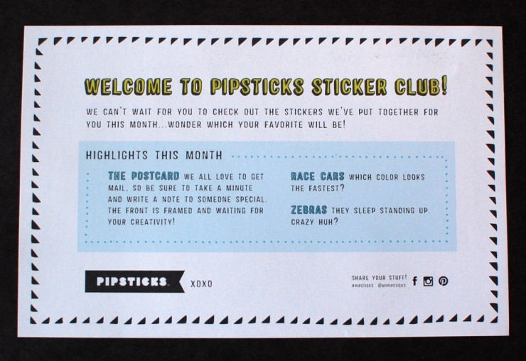 Pipsticks January 2015