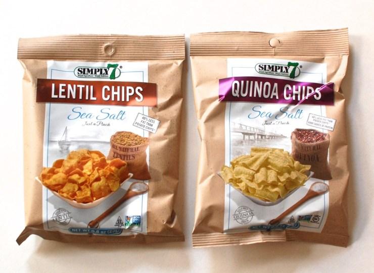 Simply 7 snacks