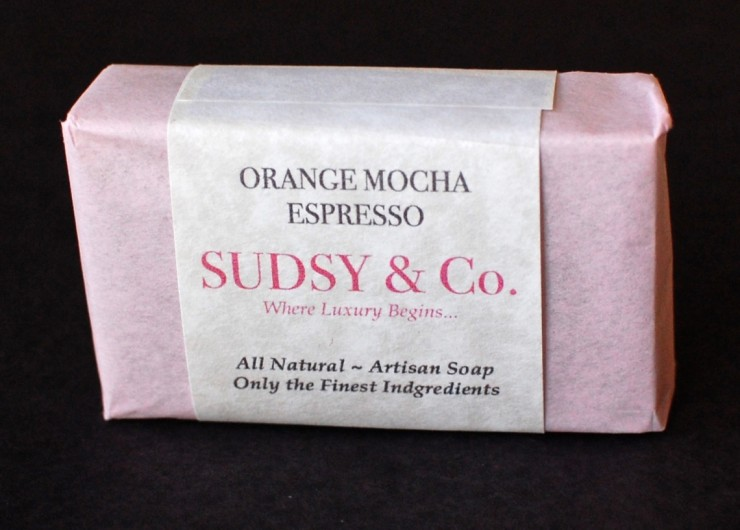 Orange Mocha Espresso soap