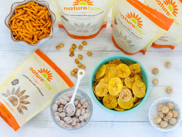 NatureBox Offer – 3 FREE Snacks with First Order