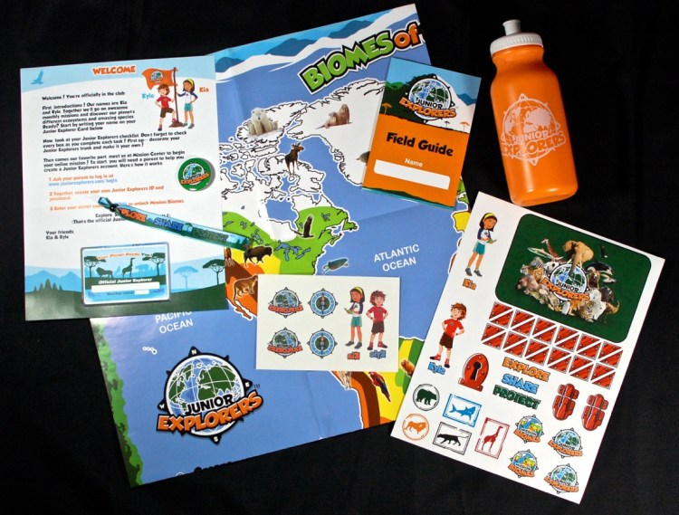 Junior Explorers Welcome Kit Review & 50% Discount