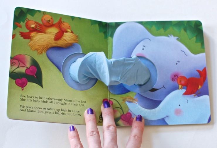 Mama Loves Me elephant book