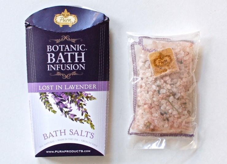 Pura bath salts