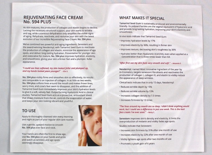 From the Lab face cream