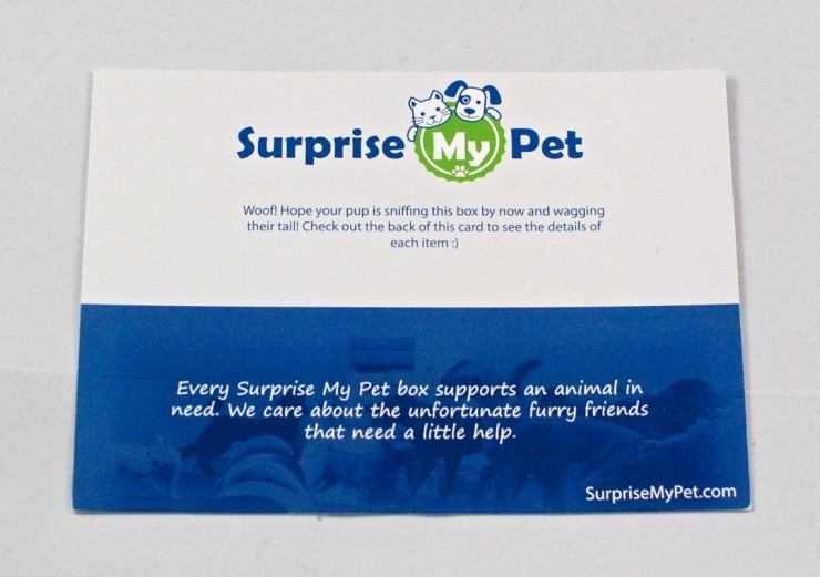 Surprise My Pet February