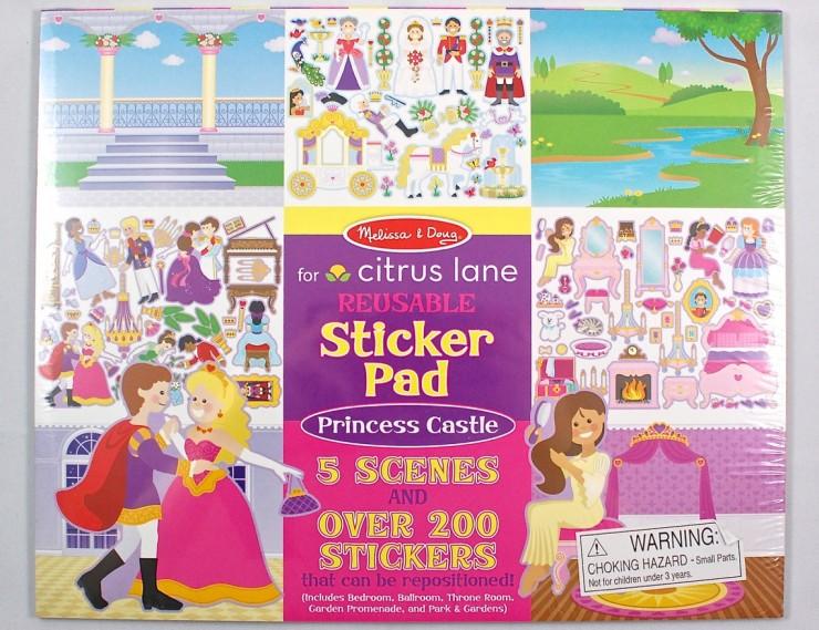 Melissa & Doug sticker pad