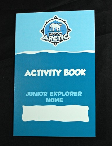 Junior Explorers activity book