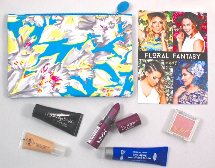 Ipsy Glam Bag March 2015 Review