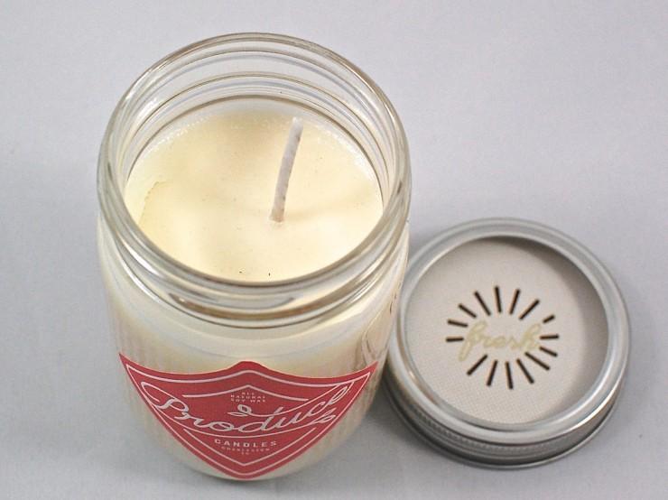 rhubarb candle