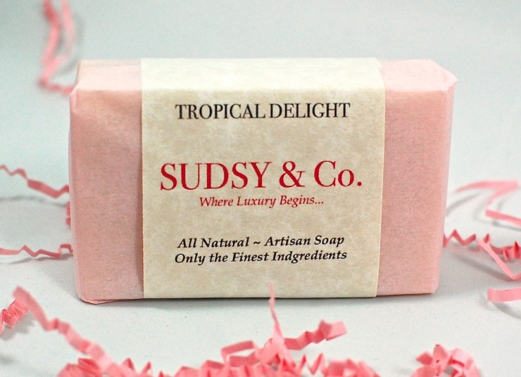 Tropical Delight soap