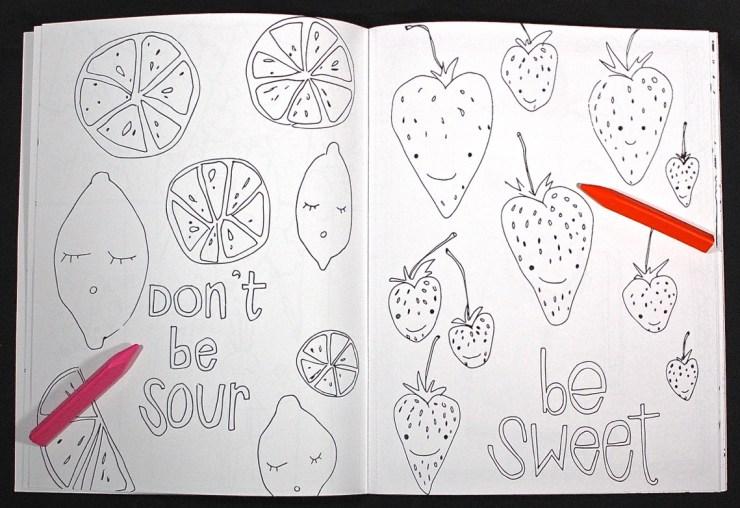 Nice Tomato coloring book
