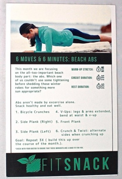 Fit Snack Workout