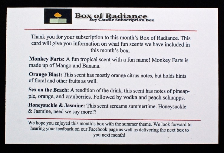 May Box of Radiance