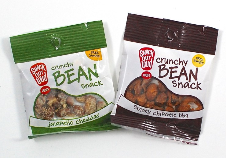 Crunchy Bean Snacks