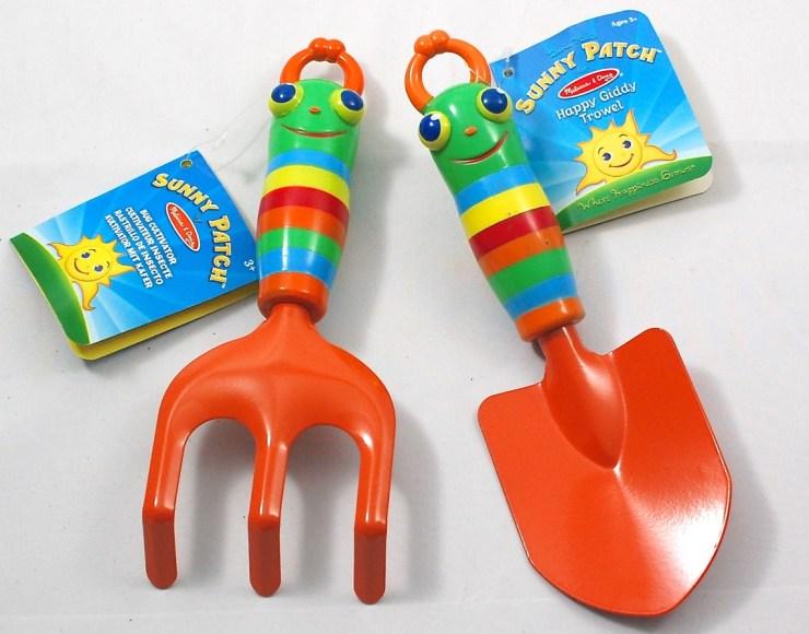 Melissa & Doug gardening tools