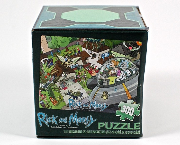 Rick and Morty puzzle