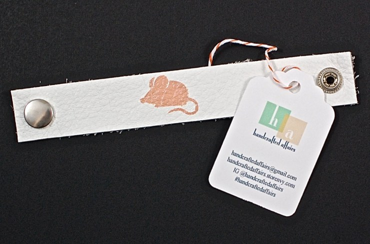 Handcrafted Affairs mouse cuff