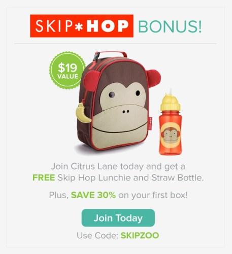 Citrus Lane Skip Hop bonus