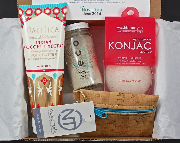 Kloverbox June 2015 Review & Coupon Code