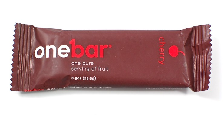 One Bar fruit bar