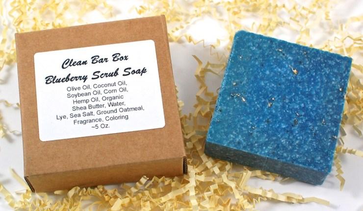 Blueberry Scrub soap