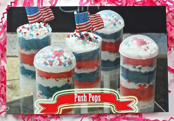 Push Up Pop Cupcakes