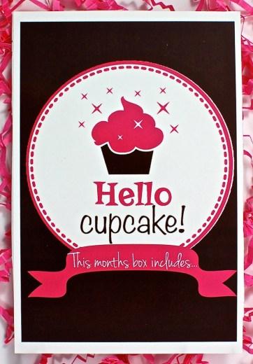 Cupcake Dazzle June